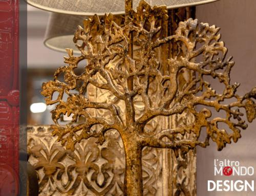 Lampada scultura albero
