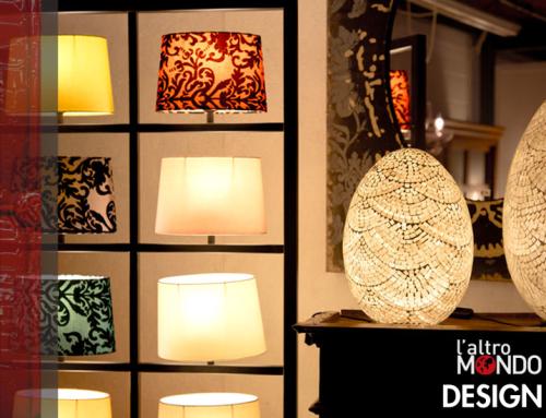 Lampade di design mosaico e griglia